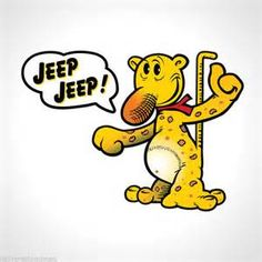 Eugene the Jeep, used for Jeep products way back when