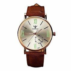 Ularma Herren Uhr Luxus Mode Kunstleder Quarzuhren Analog Armbanduhr mit Nachtleuchtende 327 Silber - http://uhr.haus/ularma/ularma-herren-uhr-luxus-mode-kunstleder-analog-2