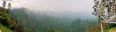 The Endless Beauties of Kodaikanal - A picturesque panoramic view of the Nilgiri Hills, captured from a view point at Kodaikanal, Tamil Nadu, India. Clicked on my Google Nexus 5.