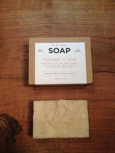 DUST BOWL DRY GOODS — Manready Mercantile  Bergamot + Teak Goat Soap