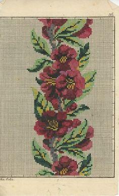A Beautiful Berlin WoolWork Pattern ~ eBay.com mishutkadesign