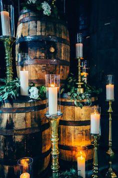Rustic Glamour Wedding Details - Derek Halkett Photography