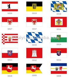 YIWU Factory German Flags Country Flag Custom Flags $0.15~$1.25