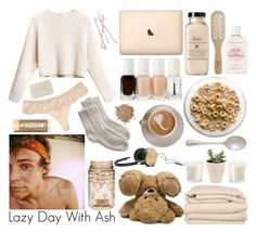 """""""Lazy Day With Ash"""" by natalie1432 ❤ liked on Polyvore featuring Brahms Mount, Essie, La Perla, Juliska, Philip Kingsley, Fresh, Crabtree & Evelyn, Bobbi Brown Cosmetics, Toast and Frends"""