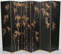 Chinese 6-Panel Folding Room Divider