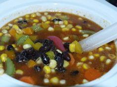 Black Bean Soup. Photo by Demelza
