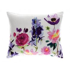Bluebellgray Charlie Cushion - Made in the UK. Bluebellgray Red Rose Ecru Cushion - Made in the UK. Bluebellgray Ebba Linen Cushion - Made in the UK. Bluebellgray Peggy Midnight Cushion - Made in the UK.