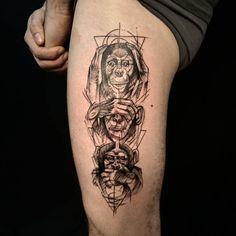 Un peu de sagesse avant le week-end, merci Romain. #tatouage #tattoo #ink…