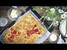 Leipä on olennainen osa rapujuhlia. Tänä vuonna perinteinen rapujuhlien leipä, paahtoleipä, saa kuitenkin haastajan: sympaattinen rapufocaccia!