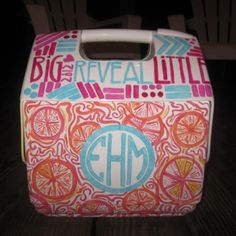Cooler design. (Perhaps we have  THD cooler decorating contest?!)