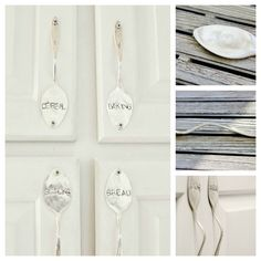 2. Kitchen Cabinet Handles | 30 Quirky Ways To Use Your Utensils