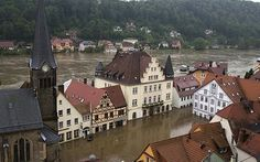 #Climate #Change Historic 500 year floods in Eastern Europe