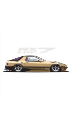 Tuner Cars, Jdm Cars, Fc Rx7, Street Racing Cars, Roaches, Truck Art, Car Illustration, Import Cars, Car Posters