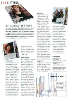 Win the perfect match for you skin- a customized Miracle 10 Starter Kit (http://www.miracle10.com/type1.cfm) from Elle Magazine -  January 2011. #ellemagazine #beauty #skintreatment