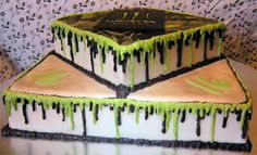 Monster Energy Drink Themed Cake