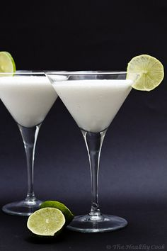 Coconut Limeade - Juice with Coconut and Lime