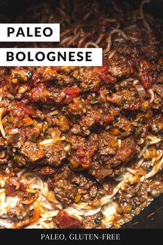 An easy meat sauce you can make on any weeknight dinner to get cozy with, or a perfect meal prep option too! Toss it over pasta, zoodles, greens, or stuff it in a squash 🙂 - the possibilities are endless. Lamb Recipes, Paleo Recipes, Real Food Recipes, Cooking Recipes, Paleo Pasta, Paleo Soup, Paleo Dinner, Healthy Dinner Recipes, Paleo Menu