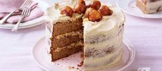 Kate'sSticky Toffee Apple Caramel Cake | The Great British Bake Off