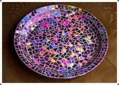 Hayat ve İnsan 1: CD' den Mozaik Tabak Süsleme Yapımı