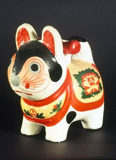 Mingei - Wikipedia, the free encyclopedia Japanese Cat, Japanese Toys, Protective Dogs, Traditional Toys, Bamboo Basket, Maneki Neko, Mother And Child, Cat Toys, Piggy Bank