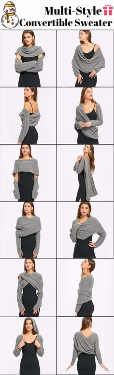 Cable Knit Convertible Sweater 1d1969c0be4