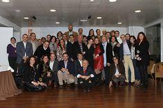 Presentación oficial de EnRhED el día 14 de Diciembre de 2012 en Green House (Madrid). Foto de Grupo.