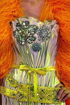 Christian Lacroix Fall 2004 Couture Fashion Show Details