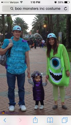 Monsters inc costume