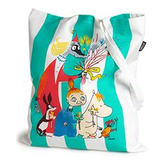 Kangaskassi - Lindex. Moomin bag Tove Jansson, Sunshine In A Bag, Children, Kids, Diaper Bag, Totes, Barn, Illustrations, Handbags