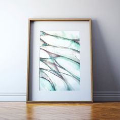This is a print of an original watercolor that I made. While it initially looks abstract, the lines actually portray the braiding of the lumbar plexus, the bundle of nerves that supply the lower extremity. While youll know that its anatomical in nature, most will just see an attractive abstract watercolor. NAME: The Lumbar Plexus  PAPER & INK: The print will come on 100% cotton rag 300gsm Archival Matte Paper. This lovely museum-quality paper is acid-free and engineered for high contrast and…