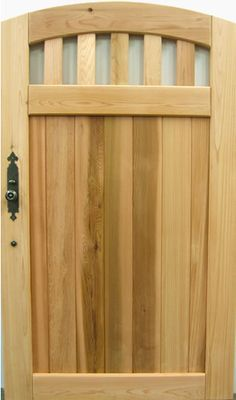 Prowell Woodworks' Premier Garden Gate #20 - B loves this chunky ...