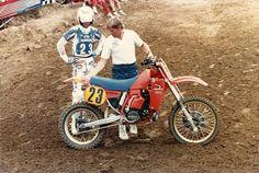 Honda Dirt Bike, Honda Motorcycles, Motocross Riders, Bmx, Moto Cross, David Bailey, Vintage Motocross, Honda Cr, Dirtbikes