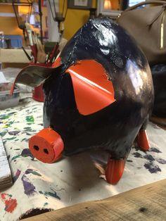 Auburn pig