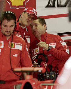 Michael with Jean Todt