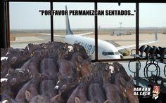 """De por qué a los colombianos nos cuesta seguir instrucciones o del síndrome del """"avión""""."""