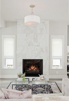 7 Simple and Crazy Ideas Can Change Your Life: Fireplace With Tv Above Hidden slate fireplace corner.Slate Fireplace Corner fireplace and mantels moldings.Black Fireplace Home Interiors. Farmhouse Fireplace, Home Fireplace, Fireplace Remodel, Living Room With Fireplace, Fireplace Mantels, Living Room Decor, Fireplace Ideas, Tall Fireplace, Limestone Fireplace
