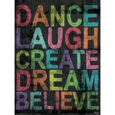 Found it at Wayfair - Inspire Me - Believe Canvas Art