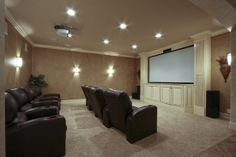 I would have a Theater Room