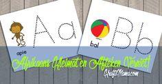 X, Y en Z Kleimatte en Werkskaarte - KraftiMama Grade R Worksheets, Alphabet Worksheets, Preschool Worksheets, Printable Alphabet Letters, Alphabet For Kids, Free Preschool, Preschool Learning, Afrikaans Language, Learning Time