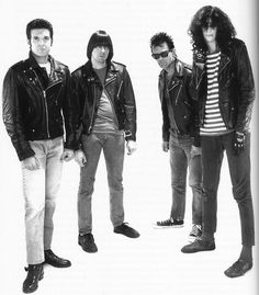 Elvis (Clem), Johnny, Dee Dee und Joey