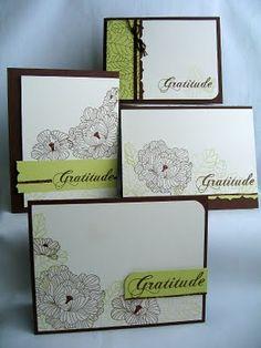 handmade card set, simple and beautiful