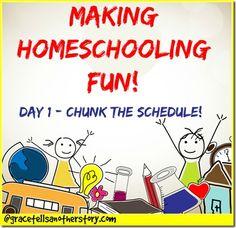 Five Days of Making Homeschooling Fun! Day it Outside! - Grace Tells Another Story School Fun, Middle School, School Ideas, School Life, School Stuff, High School, Educational Activities, Kid Activities, Summer Activities