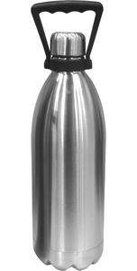 Oggi Stainless Steel 56 oz Double Wall Beer Growler - Click to enlarge