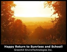 May Your September Be Exhilarating! #backtoschool #backusonkickstarter #GreenBuildingProducts #NextGeneration #Learn