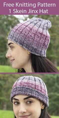 Beanie Knitting Patterns Free, Beanie Pattern Free, Crochet Beanie Pattern, Free Knitting, Hat Patterns, Crochet Patterns, Herringbone Stitch, Fingering Yarn, Knitting Accessories