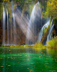 National Park of Plitvice in Croatia -   One of the famous jewels of Europe and visited by many tourists each year - the National Park of Plitvice in Croatia. Sometimes you can't believe what you see there.  Photo by  Andreas Resch