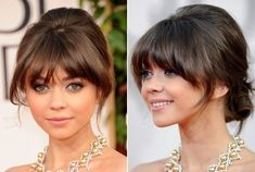 Really diggin' these bangs, but idk if id be able to pull them off.