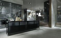 Rimadesio Alambra design kast in zwarte structuur