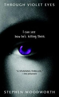 "Favorite Author }- Stephen Woodworth - His ""Violet Eyes"" series about ""Violets"" or people who channel the dead so they can testify against their killers.... really a good series."