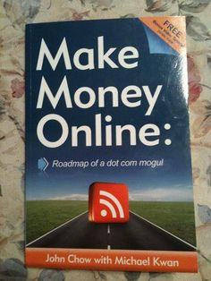 Roadmap of a dot com mogul By John Chow   {Many people believe that working at home has to involve some sort of scam. When you know the correct way to make money at home, it is very practical to start a home business. This article will outline several important tips every home business owner Please chekc my website for more.